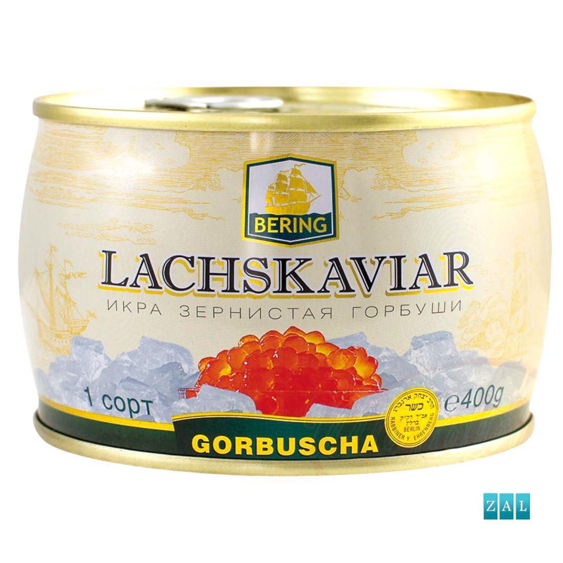 """""""Lachskaviar"""" gorbusa lazackaviár 400g"""