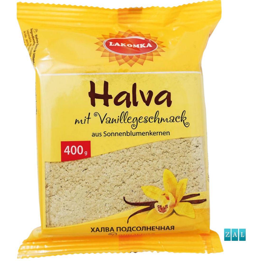 """Vanília ízű """"Halva"""" napraforgómagból 400g"""