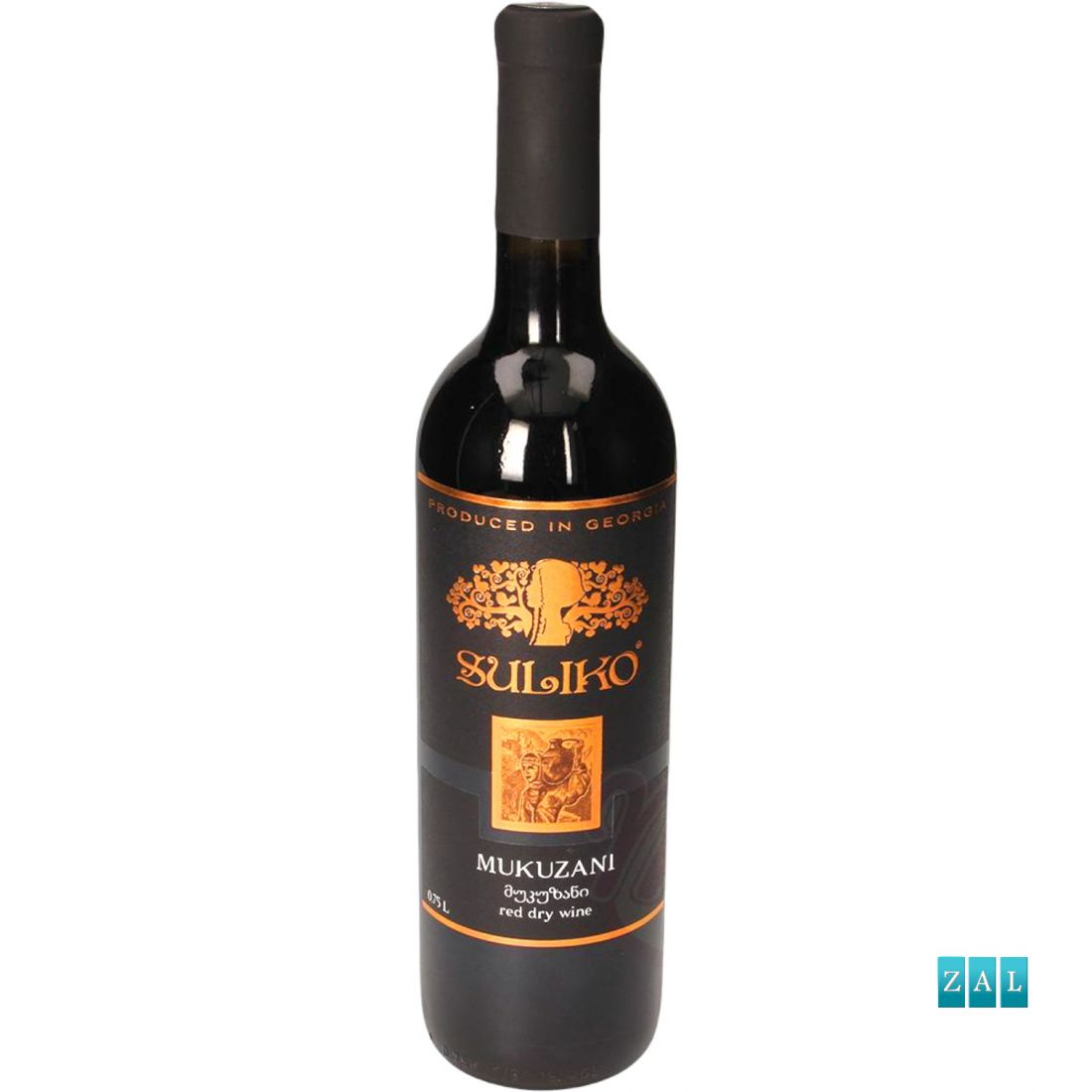 """""""Mukuzani"""" Szulikó - grúz száraz vörösbor 750ml"""