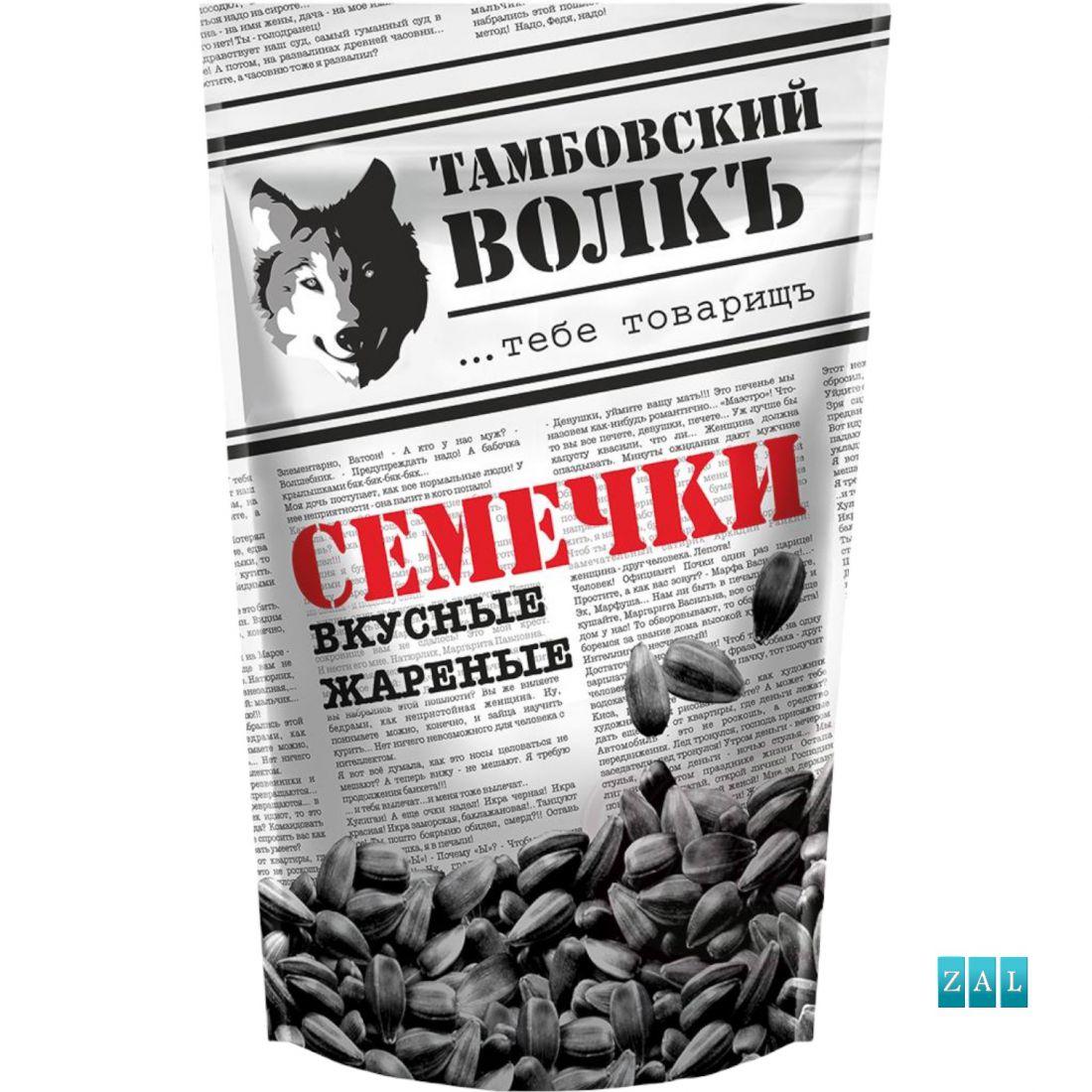 """Pörkölt napraforgómag """"Tambovskiy Volk"""" 230g"""