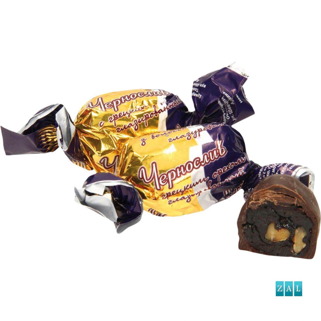 """Bonbon """"Csokis szilva dióval"""" 100g"""