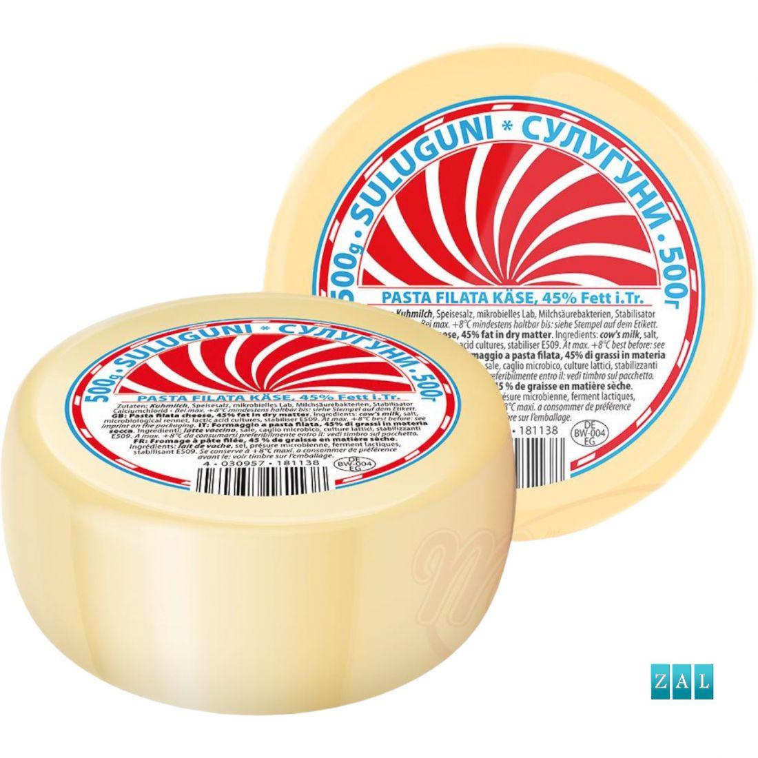 """Szuluguni"" 45% zsírtartalmú grúz sajt 0,5kg"