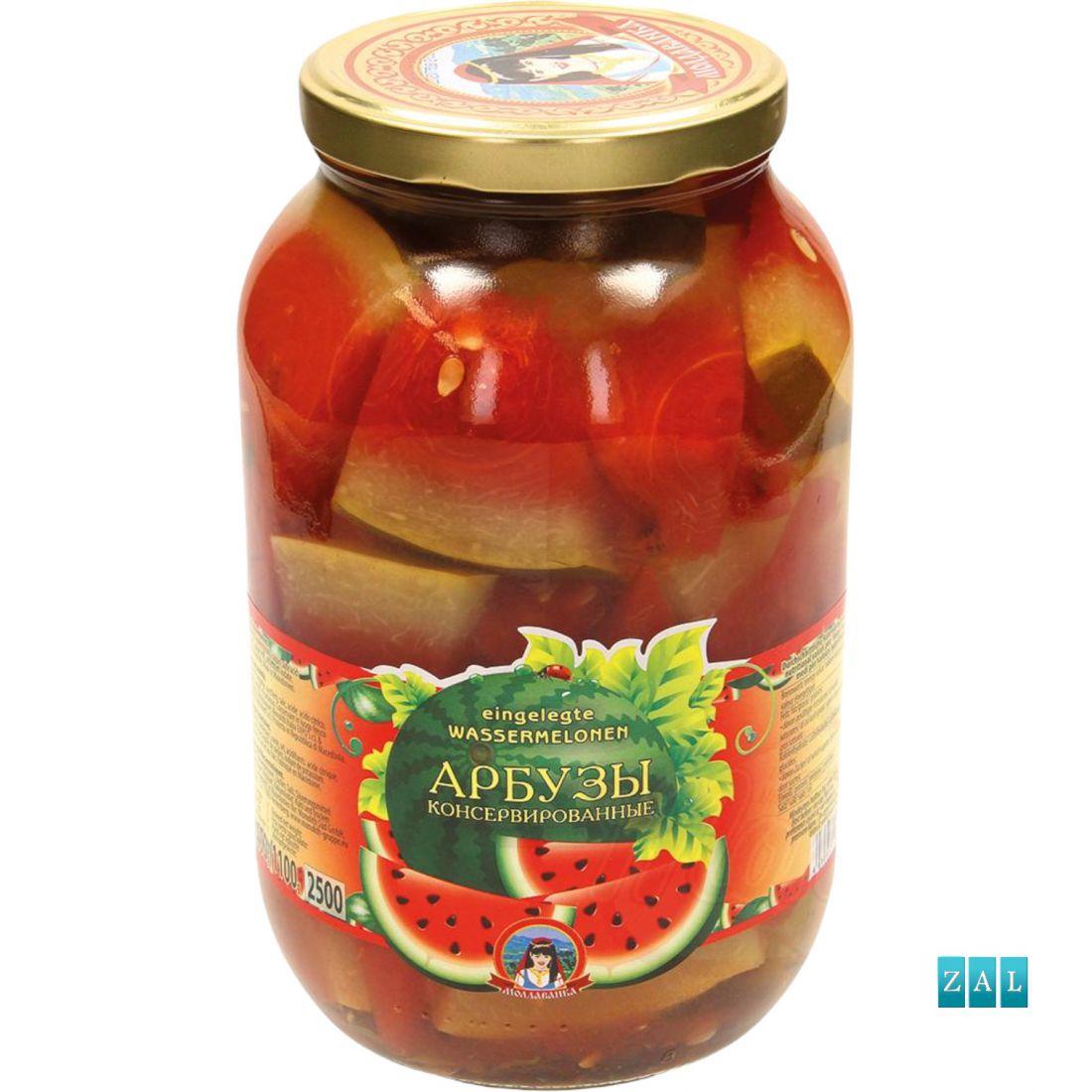 """Konzerv görögdinnye """"Moldavanka"""" 2,5kg"""