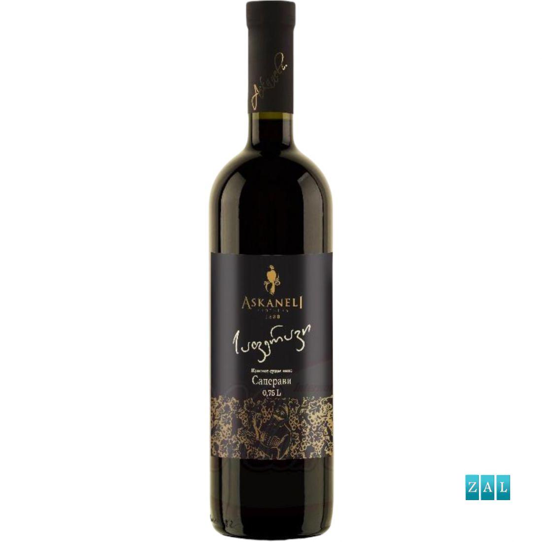 """Száraz vörösbor """"Saperavi"""", 13% alk."""