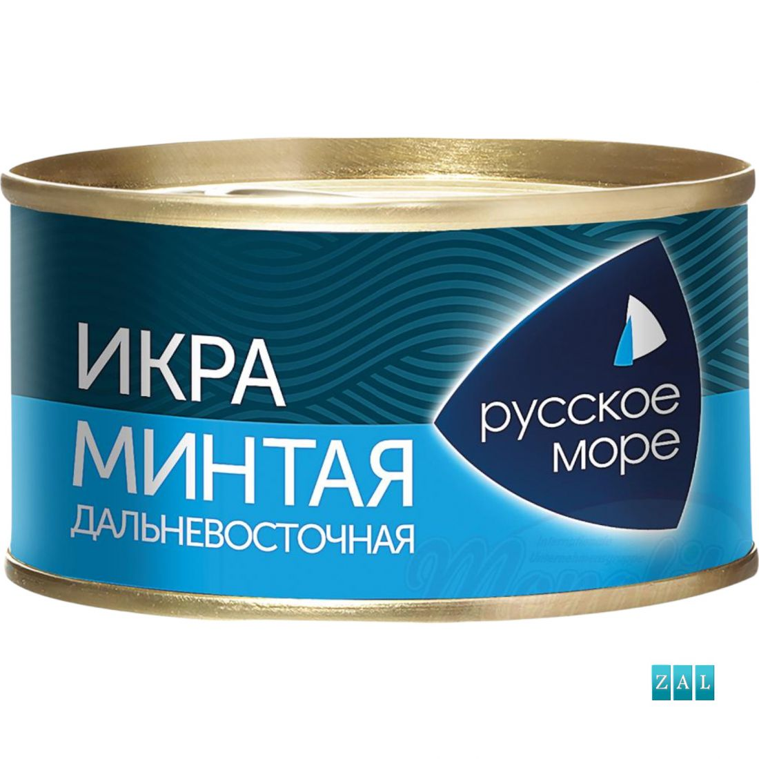 "Alaszkai pollackav ikra ""Dalnewostotschnaja"" 130g"