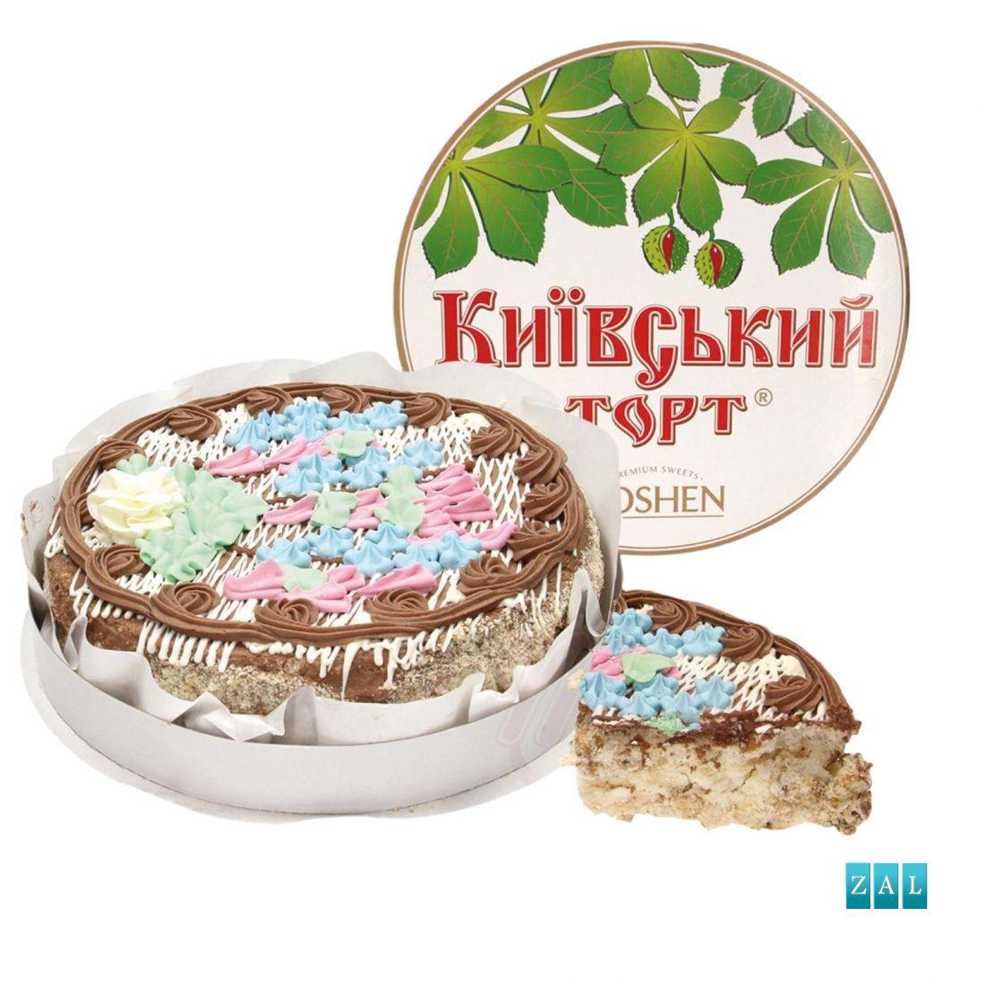 """""""Kijevi"""" torta nagy, fagyasztott ROSHEN 850g"""