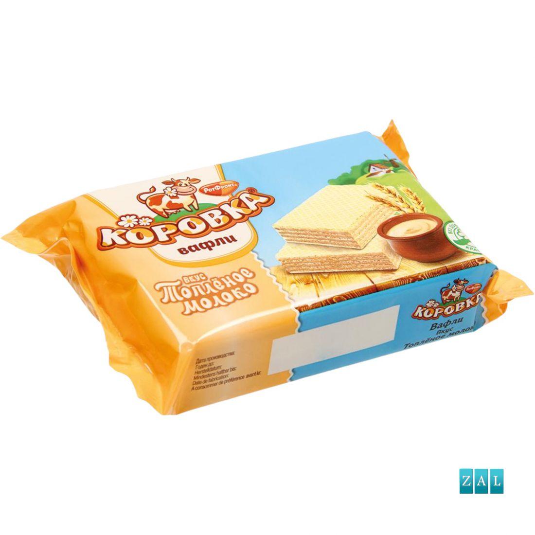 """""""Korovka"""" ostyaszeletek tejes krémtöltelékkel 150g"""