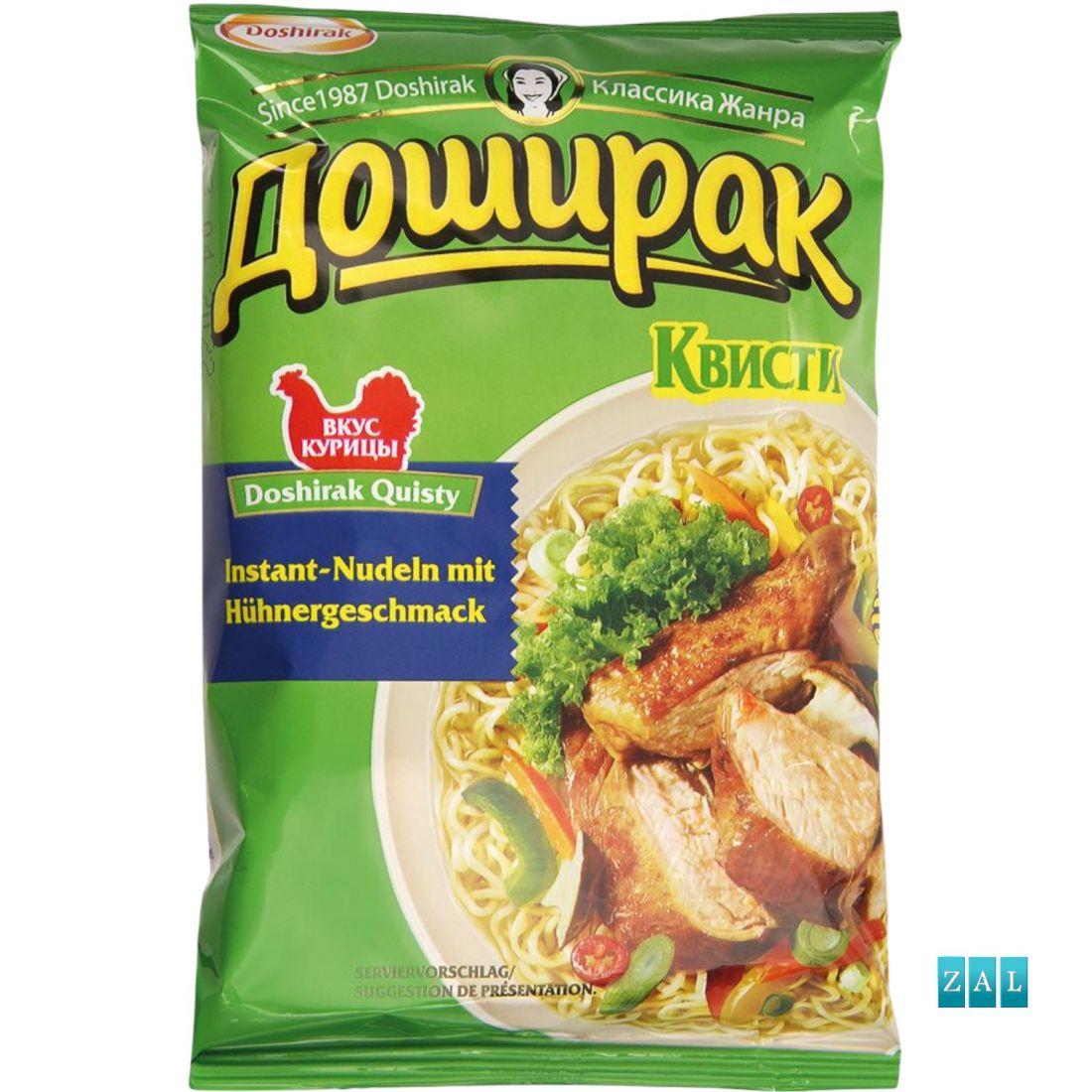 """Gyors tészta """"Doshirak Kvisti"""" csirke ízesítéssel 70g"""