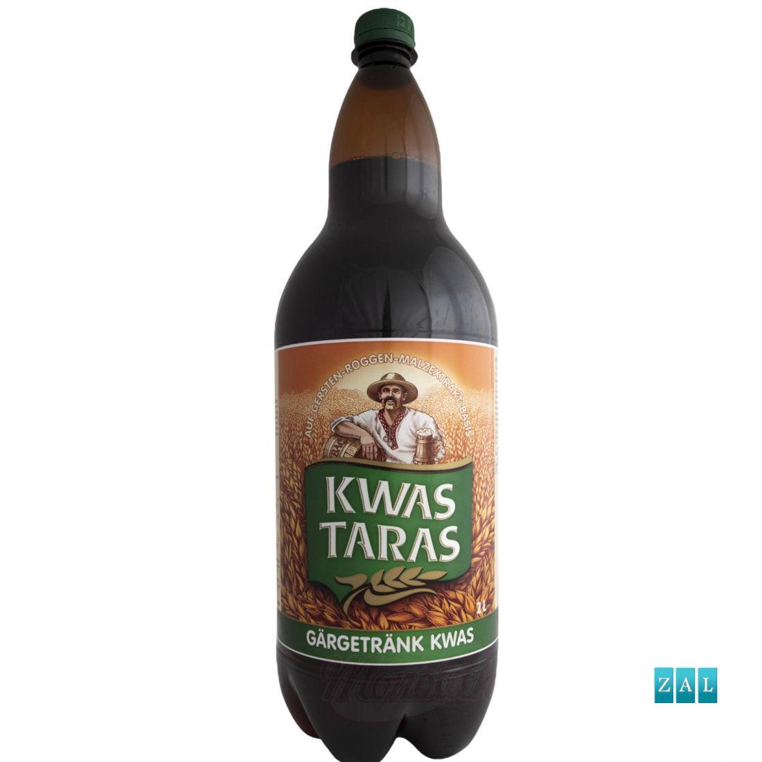"""""""Taras"""" kvasz erjesztett ital, rozs – árpa – malátakivonatból 2000ml"""