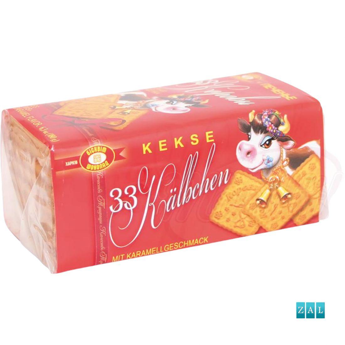 """Keksz """"33 Korovi"""" karamella ízű 180g"""