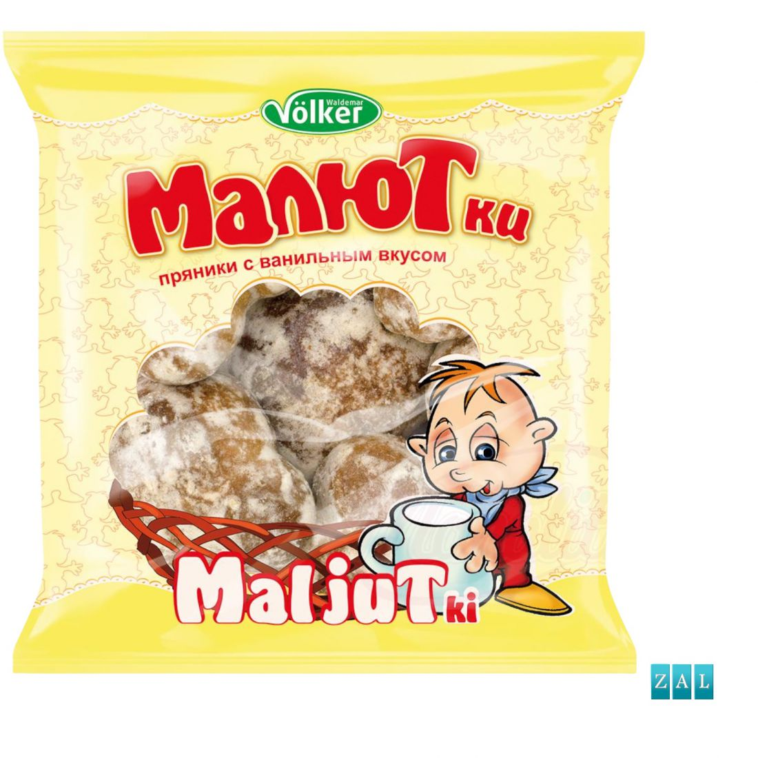 """Prjaniki-Malyutki"" vanília ízű édes sütemény 400g"