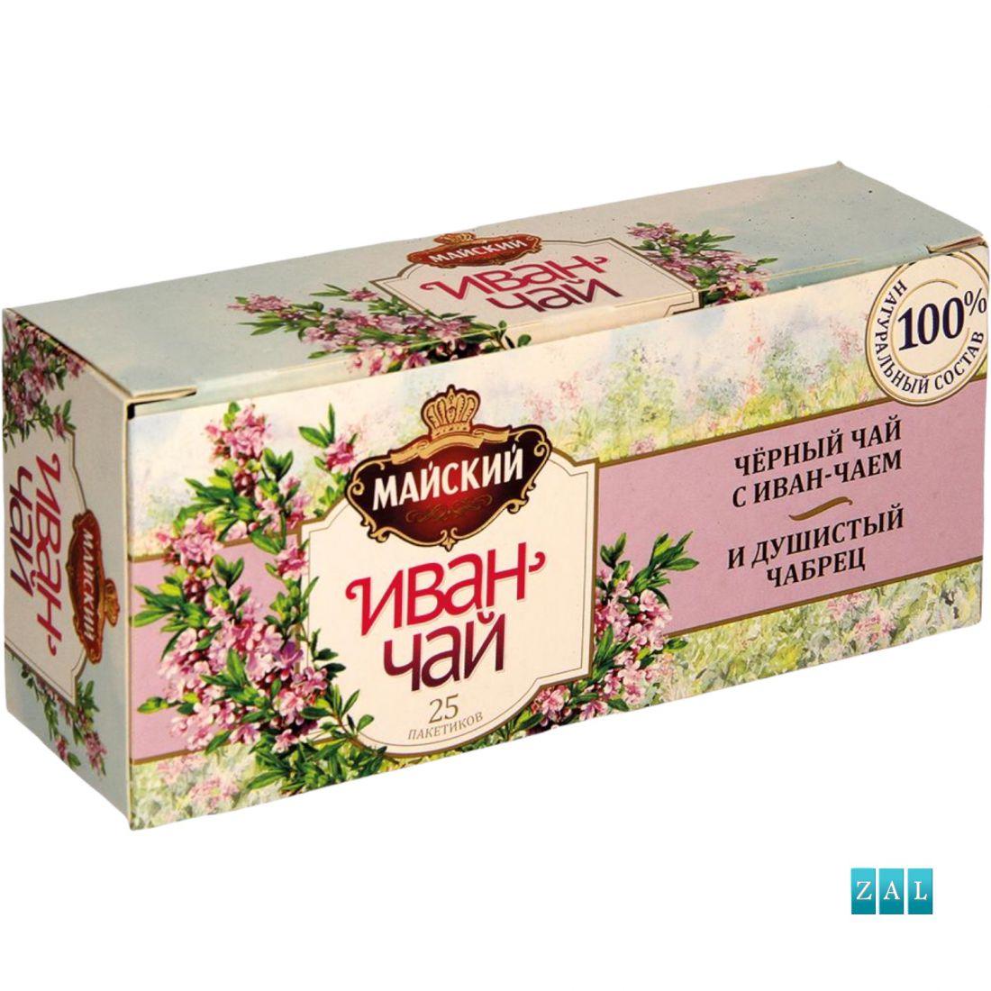 IVAN-tea, fekete tea (50%) fűzikével és kakukkfűvel 37,5g